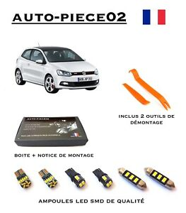 Pack FULL LED intérieur pour Volkswagen Polo 6R - 6C1 | eBay