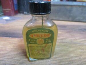 PFLUEGER-SPEEDE-REEL-OIL-BOTTLE-HOUSEHOLD-GUN-OILER-TIN