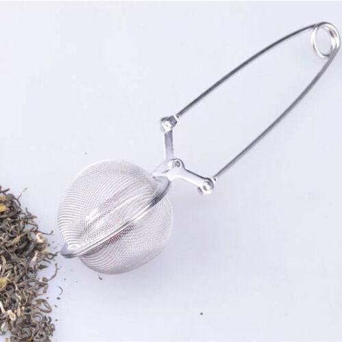Filtro antipolvere infusore in cucchiaino di tè inossidabile Spremere il filt CR
