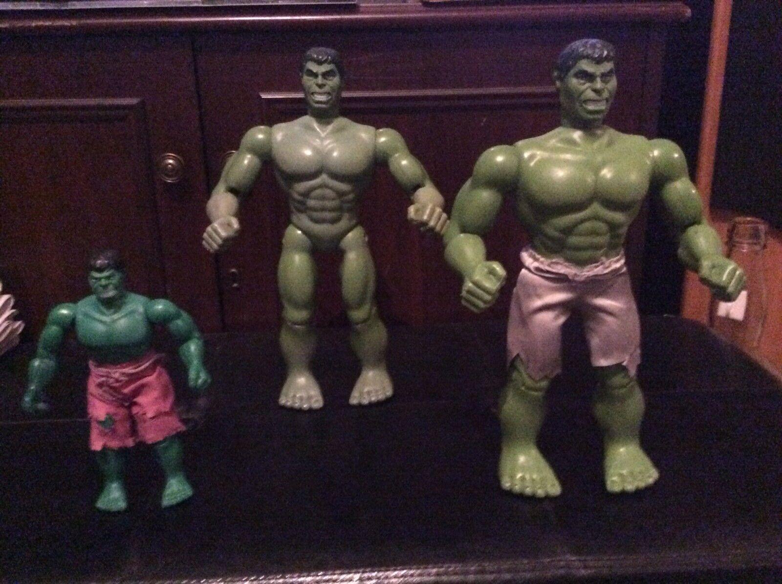 Con precio barato para obtener la mejor marca. Vintage Vintage Vintage Incredible Hulk Figuras 2018/79 Three  envío rápido en todo el mundo