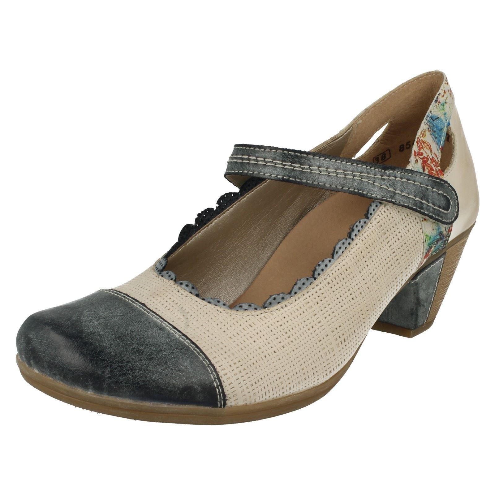 Remonte Damen mit Absatz Mary Jane Schuhe D1207-80