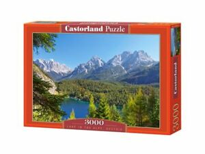 "Castorland Puzzle 3000 Pieces - Lake in the Alps - 36"" x 27"" Sealed box C-300242"