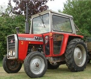 MASSEY FERGUSON TRACTORS 550 565 575 590 MF500 500 SHOP REPAIR SERVICE MANUAL CD | eBay