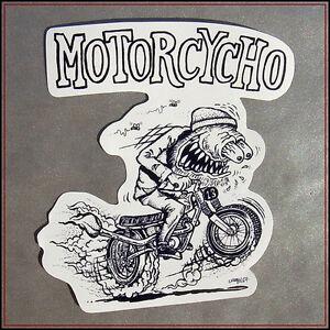 10pcs Rat Fink Bike Laptop Motorcycle Car Vinyl Decal Ed Roth Luggage Stickers