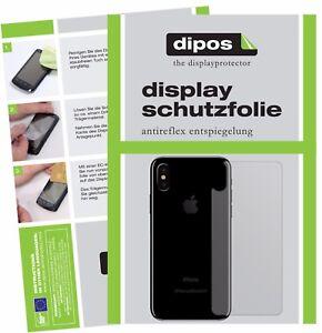 6x-Apple-iPhone-X-10-arriere-Film-de-protection-d-039-ecran-protecteur-antireflet