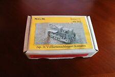 MGM 080-301 1/72 Resin WWII Japanese 3 Ton Komatsu Tractor