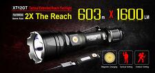 Klarus XT12GT XHP35 HI D4 1600LM Magnetic Charging Tactical LED Flashlight