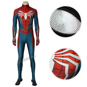 Insomniac-PS4-Game-Marvel-s-Spider-Man-Cosplay-Costume-Jumpsuit-Halloween-Outfit