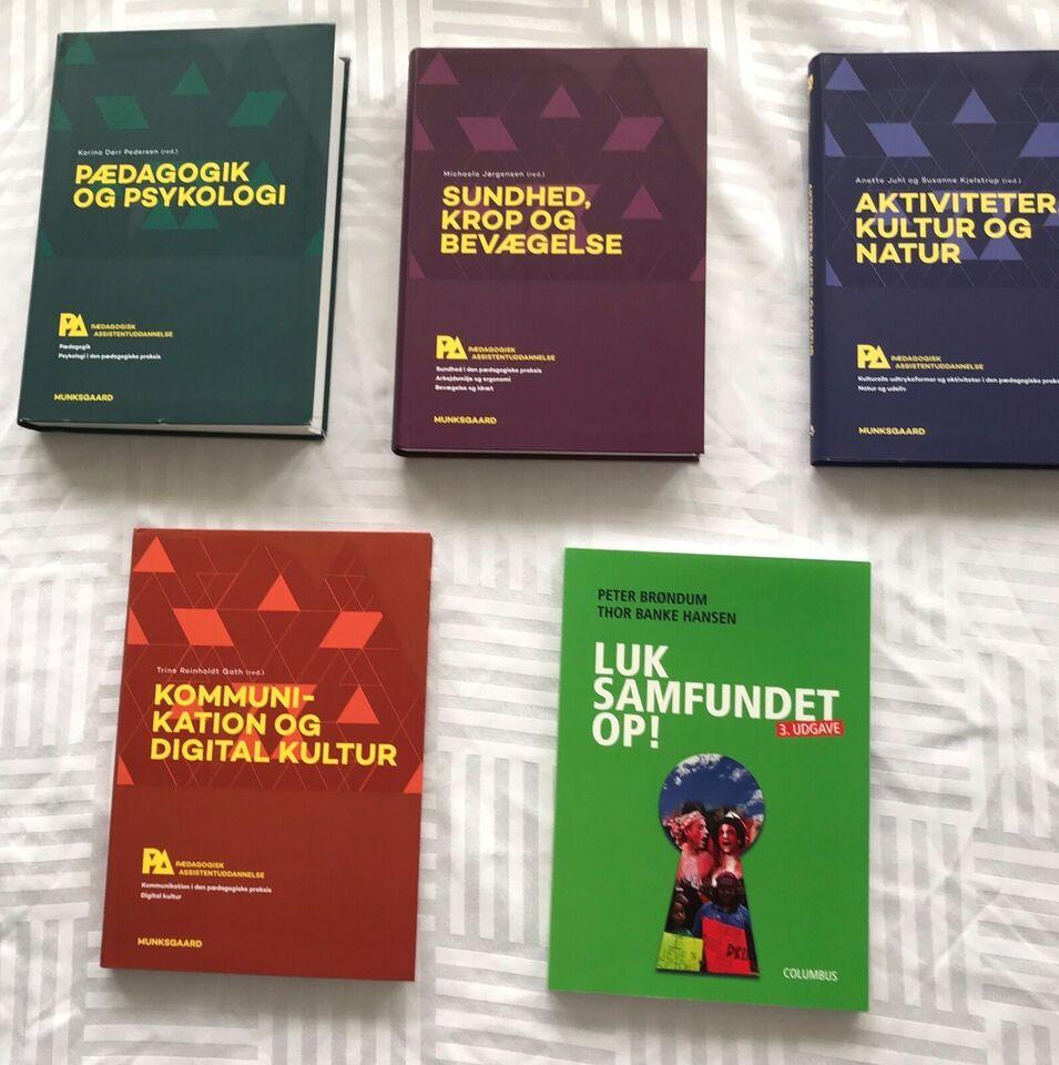 Pædagogiske assistent bøger, Pædagogiske assistent