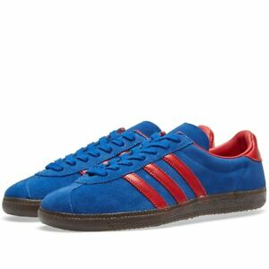 premium selection 6b080 909f0 Image is loading Adidas-Spezial-BLUE-amp-RED-SPIRITUS-SPZL-TRAINERS-