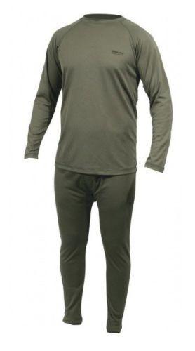 black leggings olive green thermal underwear WEB-TEX BASE LAYER