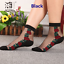 Women-Transparent-Thin-Roses-Flower-Lace-Socks-Crystal-Glass-Silk-Short-Socks miniature 19