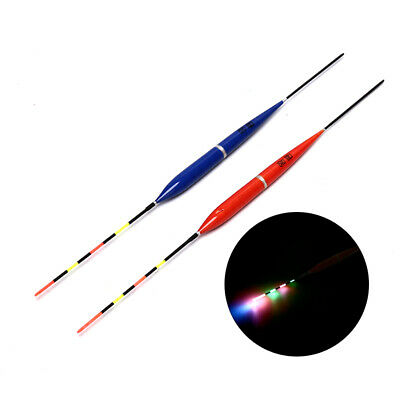 10pc elektronische leuchtende LED-Licht Bobber Nachtfischen Tackle Low Pric F2I8