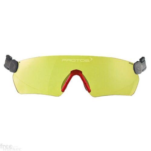 Protos Integral Schutzbrille klar//gelb für alle Protos Helme geeignet