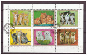 Sharjah-Chats-Minr-1030-1035-Bloc-120-1972-Used