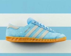 Details about Adidas Hamburg x Size? Men's M21039 Originals Suede Bluebird Blue Limited Rare