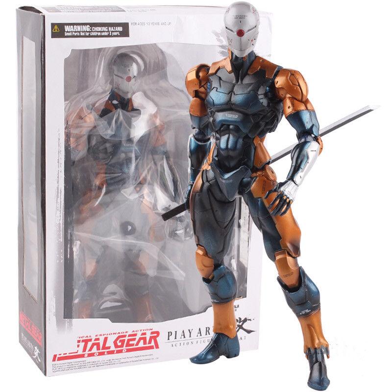 Play Arts Kai Metal Gear Solid Cyborg Ninja grau Fox PVC Action Figure Model Toy