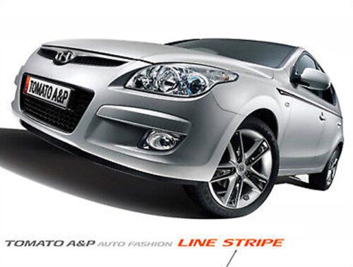 Line Sticker Dark Silver 8P For 08 11 Kia Forte New Cerato