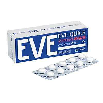 Popularity EVE QUICK headache medicine 40 tablets Shipping from Japan