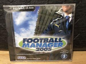 SEGA-Football-Manager-2005-Soccer-PC-2004-RARE-IN-USA-Sealed-Brand-New