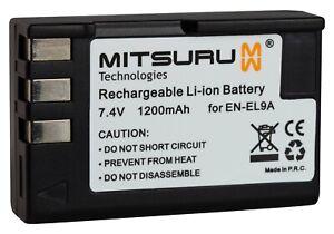 Mitsuru-1200mAh-Batterie-pour-Nikon-EN-EL9-ENEL9-ENEL-9