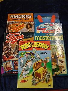 7-1980-039-S-CHILDRENS-ANNUALS-by-WORLD-BOOKS-UK-FREE-POST-HARDBACKS