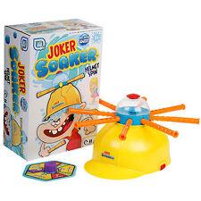 CHILDRENS KIDS JOKER SOAKER SPINNING HARD HAT HELMET - HILARIOUS PARTY GAME TOY