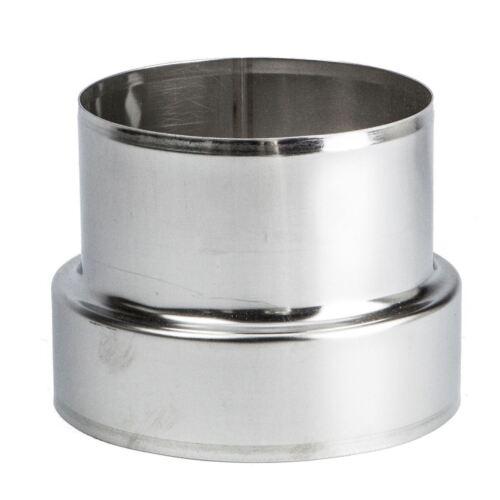 Tube En Acier Inoxydable Connecteur adaptateur Chimney Flue Liner Réducteur Ø 80-250 mm