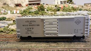 Accurail-HO-Atlanta-amp-West-Point-40-039-Boxcar-Upgraded-Exc