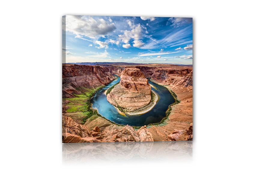 Votre photo, image, pression sur toile 35 x 145 CM avec 2cm chassis toile