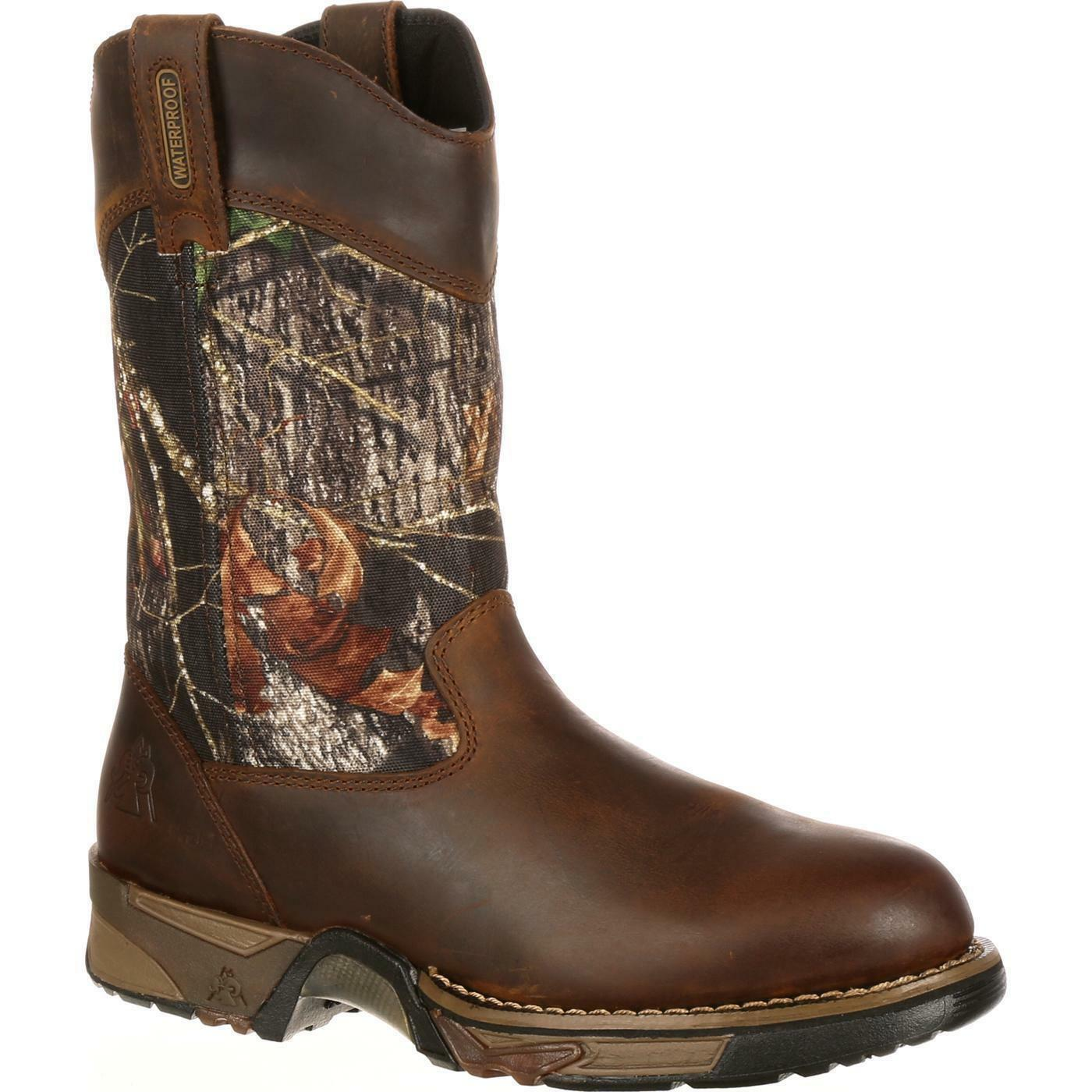 Rocky 2871 Aztec Waterproof Camo Pull-On Pull-On Pull-On Wellington Style Outdoor Hunting Stiefel 05ecbb