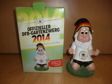 Offizieller DFB Gartenzwerg WM Brasilien 2014 circa 20 cm Neu Ovp