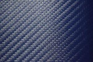 Carbon Fiber Pacific Blue Marine Vinyl Fabric Auto Outdoor Boat