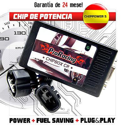 Chip de Potencia SSANGYONG REXTON I 2.7 Xdi 270 Xdi 163 CV Tuning Box /CR1