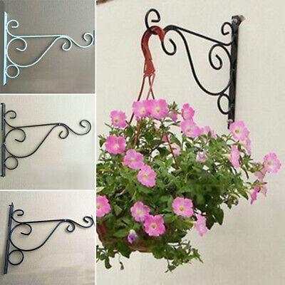 Blumenhaken Ampelhalter Wand Halterung Haken Laterne Blumen Garten Balkon Vogel
