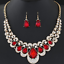 Women-Chunky-Fashion-Crystal-Bib-Collar-Choker-Chain-Pendant-Statement-Necklace thumbnail 90