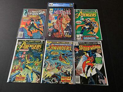 Read Description Avengers 198 Grab Bag//Chase New Mutants 98