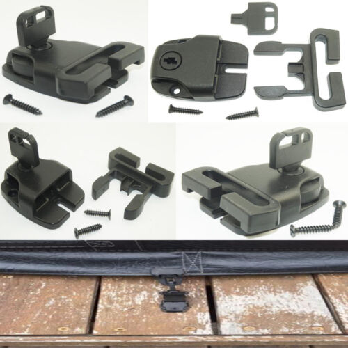 With Screw 4pcs Hot Tub Spa Cover Security Locking Wind Straps Latch Lock /& Key