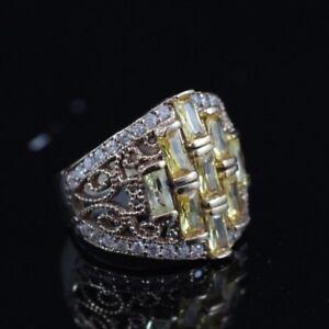 925-Sterling-Silver-Handmade-Authentic-Turkish-Quartz-Ladies-Ring-Size-6-10