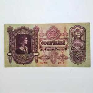 Hungary 1930 100 pengo vf