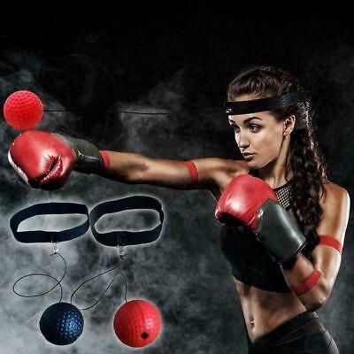 Speed Ball Hochwertiger Boxreaktions-Trainingsball Boxen für das 2pcs D6C2 A8J1