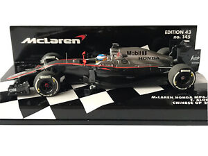 Minichamps 530154314 McLaren Honda MP4-30 F.Alonso Chinese GP F1 2015 1:43