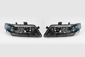 Honda-Accord-05-08-Headlights-Headlamps-Set-Pair-Driver-Passenger-Left-Right