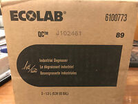 (case Of Two) Ecolab 6100773 Qc 89 Industrial Degreaser 1.3 Liter Brand