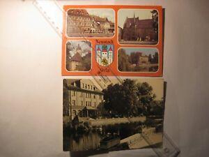2x-Neustadt-Orla-DDR-301514-87-Markt-Rathaus-u-a-Am-Gamsenteich-1-12-5-F-3