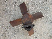 Allis Chalmers Wd Ac Tractor Engine Motor Water Pump Assembly Fan Blade Pulley