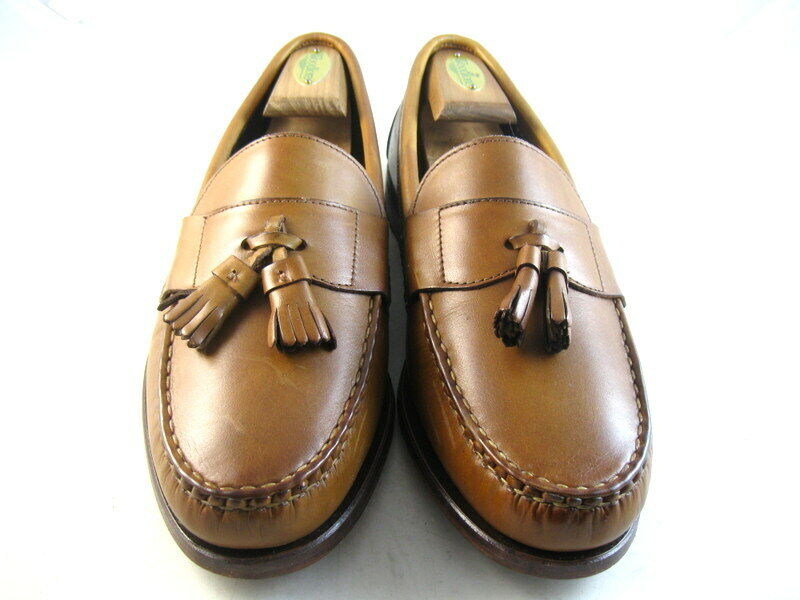 Allen Edmonds  SCHREIER  MOCASSINS 9.5 E noyer (1070)