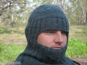 Image is loading WW1-amp-WW2-knitted-helmet e1f424a8ebc