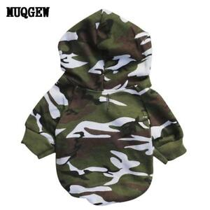 Puppy Pet Dog Clothes winter Camouflage Sweatshirts dog clothes for small dogs - Bristol, Connecticut, United States - Puppy Pet Dog Clothes winter Camouflage Sweatshirts dog clothes for small dogs - Bristol, Connecticut, United States