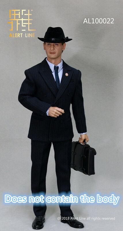 Alert Line   1 6 WWII German Businessman Sets AL100022 & Head  Figure Collection